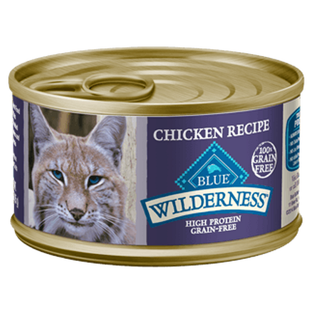 Blue Buffalo Wilderness Chicken Recipe Canned Cat Food