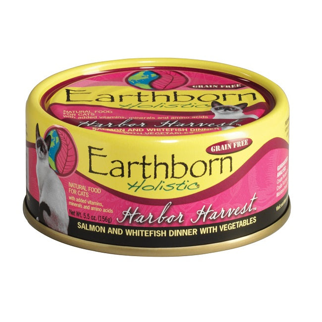 Earthborn Holistic Harbor Harvest Grain Free Canned Cat Food