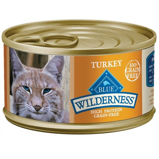Blue Buffalo Wilderness Grain Free Turkey Canned Cat Food
