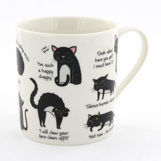 Ginger Fox Cattitude Novelty Mug