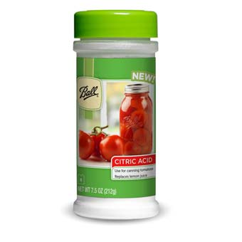 Ball Citric Acid for Canning, 7.5 oz.