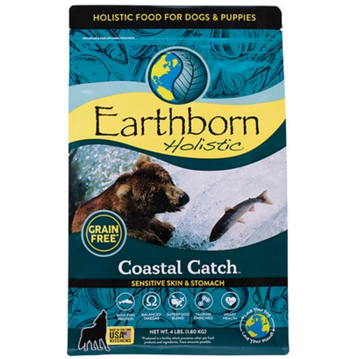 Earthborn Holistic Coastal Catch Grain Free Sensitive Skin & Stomach Dog Food