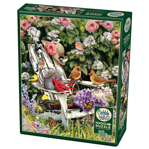 Cobble Hill 1000 Piece Jigsaw Puzzle, Summer Adirondack Birds