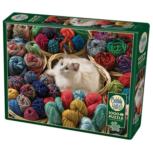 Cobble Hill 1000 Piece Jigsaw Puzzle, Fur Ball