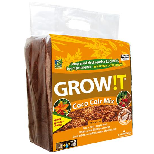 GROW!T Organic Coco Coir Mix