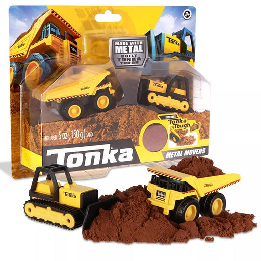 Tonka Metal Movers Combo Pack Dump Truck & Bulldozer