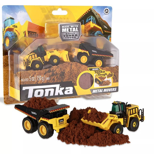 Tonka Metal Movers Combo Pack Dump Truck & Front End Loader