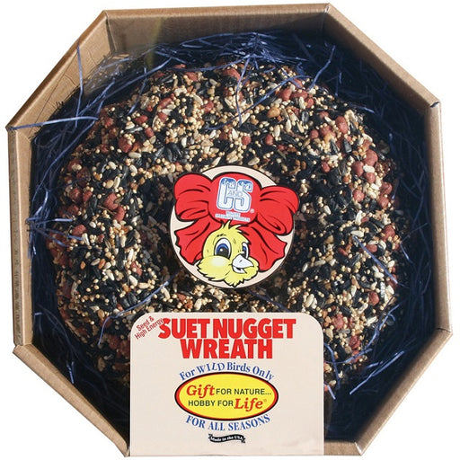 C&S Seed & High Energy Suet Nugget™ Wreath