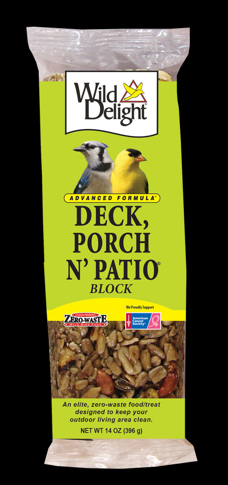 Wild Delight Porch, Deck N' Patio Outdoor Bird Block