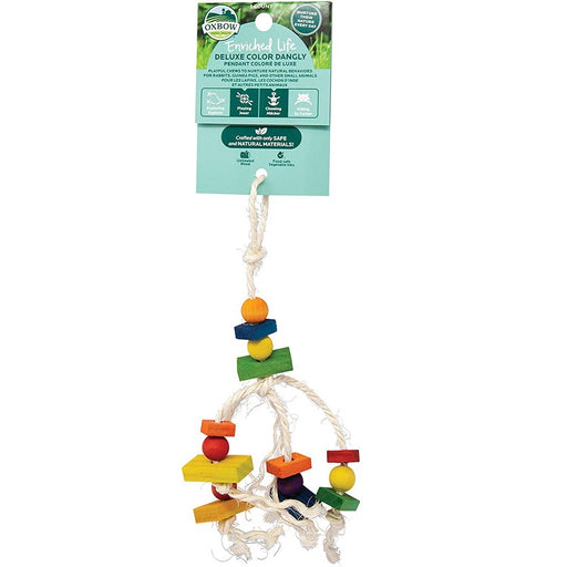 Deluxe Color Dangly, Small Animal Chew - Enriched Life