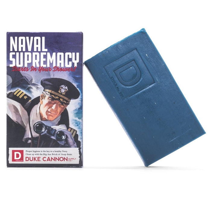 Duke Cannon Big Brick of Soap Naval Supremacy