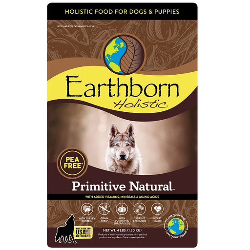 Earthborn Holistic Primitive Natural Grain Free Dry Dog Food