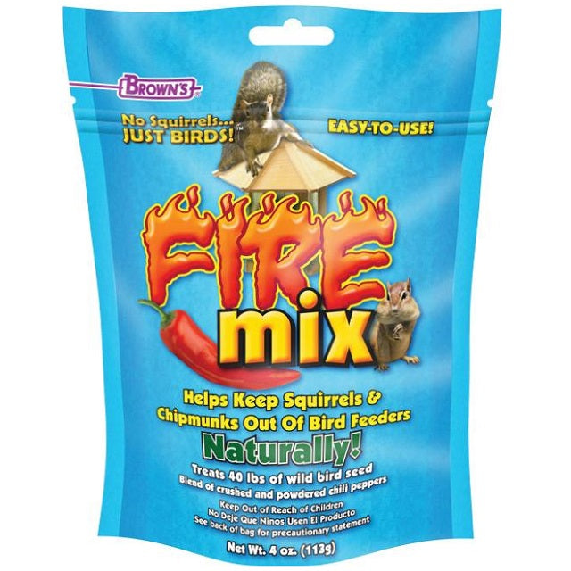 Fire Mix Bird Seed Additive