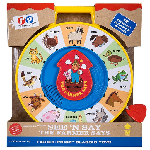 Fisher Price Classic Toys See 'n Say The Farmer Says