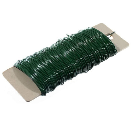 Green Floral Wire 22-gauge 4 oz.