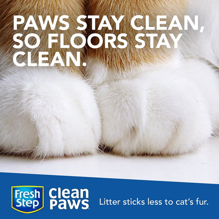 Fresh Step Clean Paws Triple Action Scented Litter