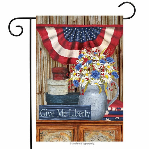 Briarwood Lane Give Me Liberty Garden Flag