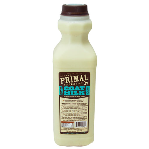 Primal Raw Goat Milk for Dogs and Cats