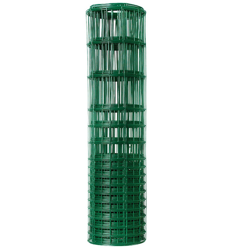 28 in. x 50 ft. Green Vinyl Coated Rabbit Guard Fencing