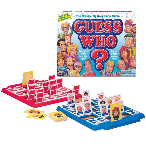 Guess Who? Classic Edition Board Game