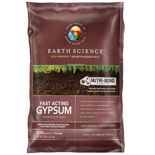Fast Acting Gypsum, 25-lbs