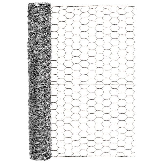 Galvanized Poultry Netting, 1 in. x 24 in. x 25 ft.