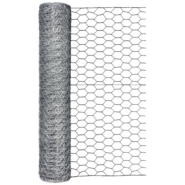 Galvanized Poultry Netting, 24 in. x 50 ft.