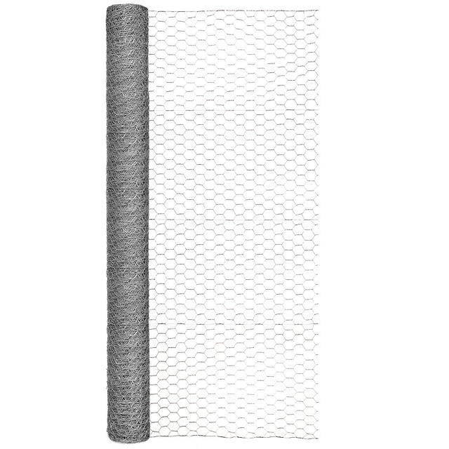 Galvanized Poultry Netting, 48 in. x 50 ft.