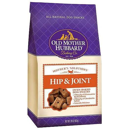 Old Mother Hubbard Mothers Solutions Crunchy Natural Hip and Joint Recipe Biscuits Dog Treats