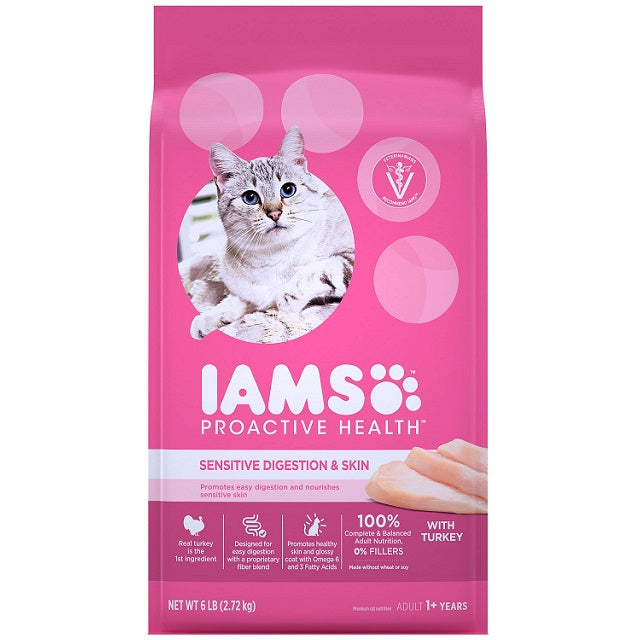 Iams ProActive Health Sensitive Digestion & Skin Dry Cat Food
