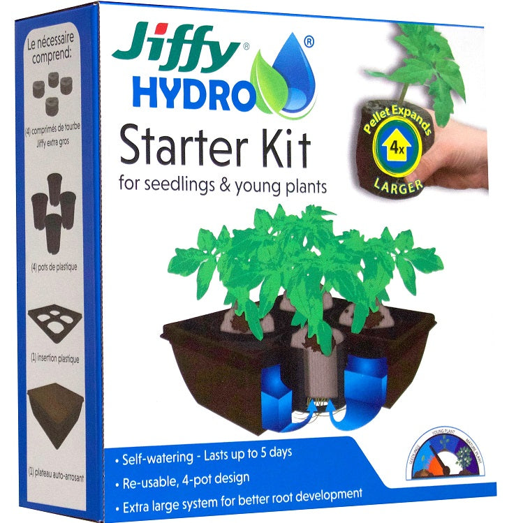 Jiffy Hydro Starter Kit, JH4-8