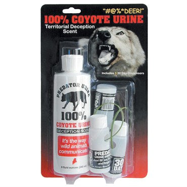 Leg Up® Coyote Urine Kit with Three 30 Day Dispensers