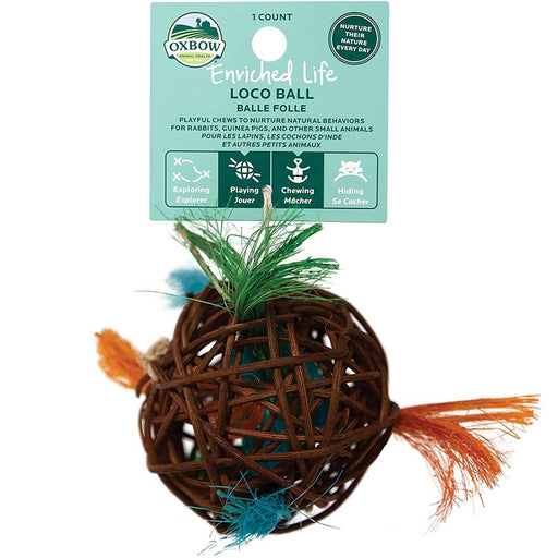 Loco Ball Small Animal Toy - Enriched Life