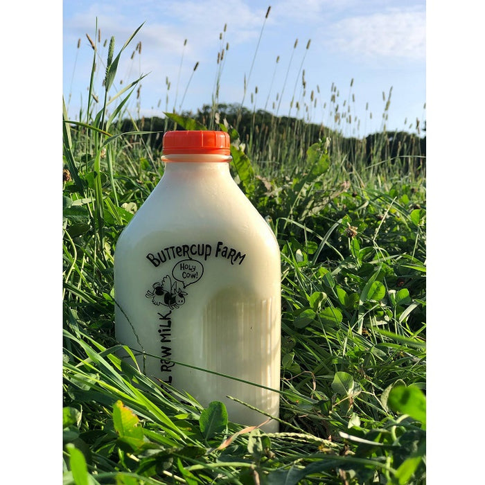 Buttercup Farm Raw Milk Half Gallon