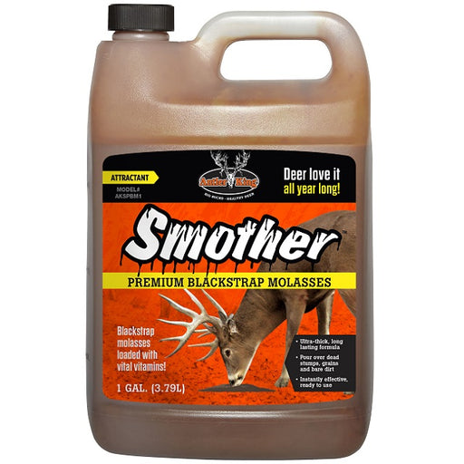 Antler King Smother Blackstrap Molasses, 1-Gallon
