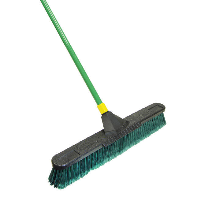 Quickie® Bulldozer™ 24 inch Multi-Surface Pushbroom