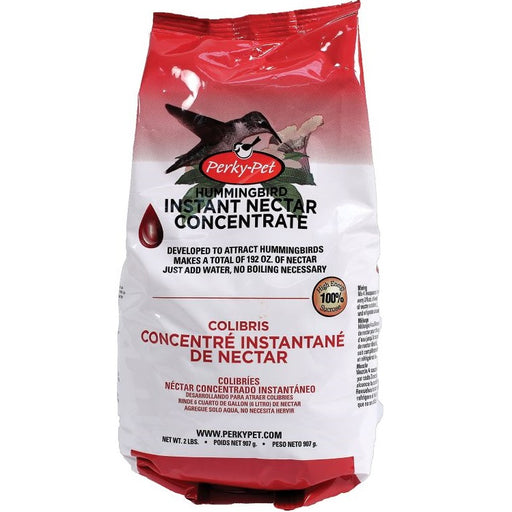 Hummingbird Instant Nectar Concentrate 2 lb., Red - Perky Pet