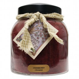 Keepers of the Light Candle, Cranberry Orange Papa Jar