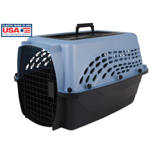 Petmate Two Door Top Load Pet Kennel, 24""