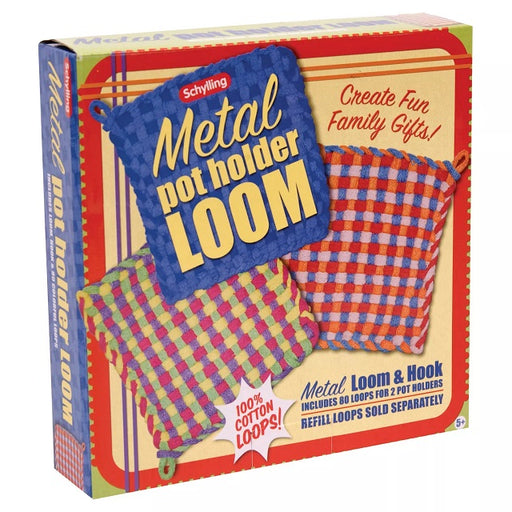 Metal Potholder Loom & Hook Kit