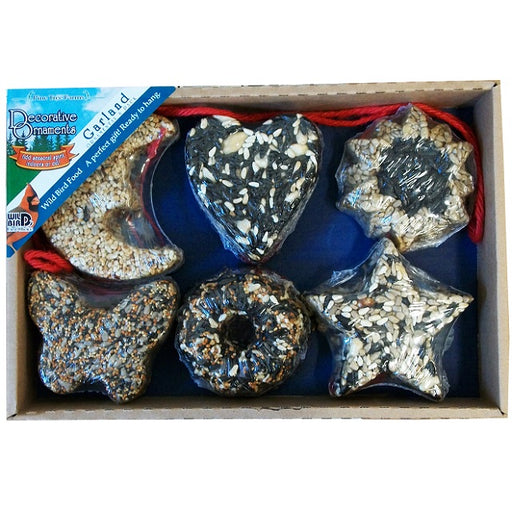 Pine Tree Farms 6 pc. Garland Seed Ornaments