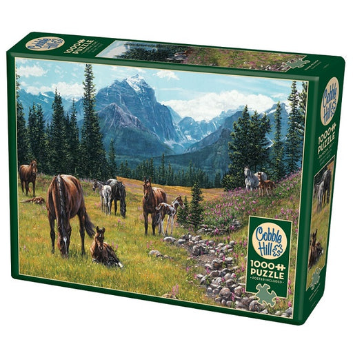 Cobble Hill 1000 Piece Jigsaw Puzzle, Horse Meadow