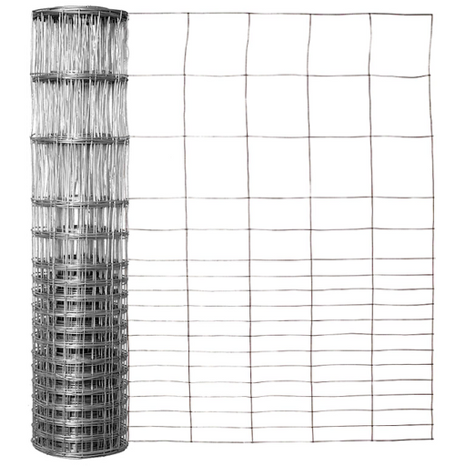 28 in. x 50 ft. Galvanized Rabbit Guard Fencing