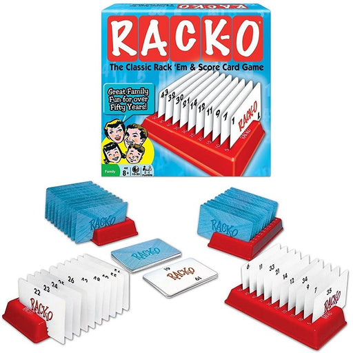 Rack-O Classic Card Game