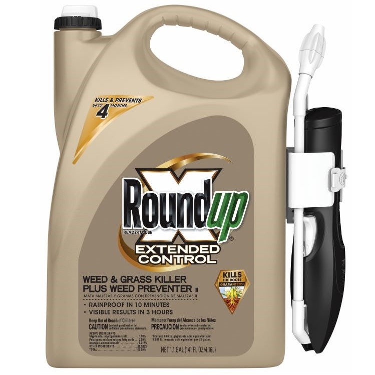 Roundup® Extended Control Weed & Grass Killer Plus Weed Preventer, Ready-to-Use