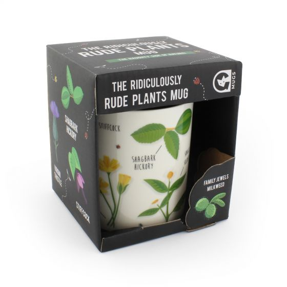 Ginger Fox Ridiculously Rude Plants Novelty Mug