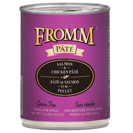 Fromm Salmon & Chicken Pate Dog Food