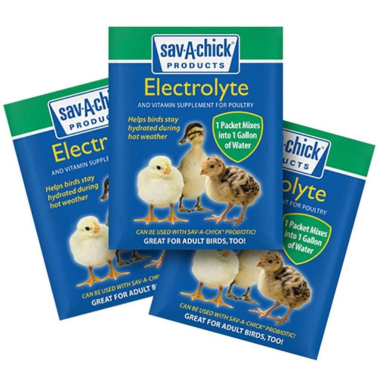 Sav-A-Chick Electrolyte & Vitamin Supplement, 3 Pack