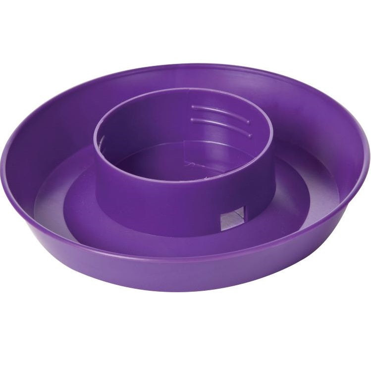 Poultry Screw-on Waterer Base, 1 Quart