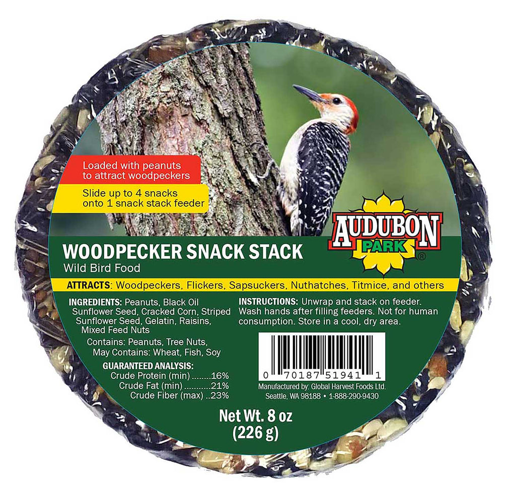 Snack Stack Seed Cake, Woodpecker 8oz